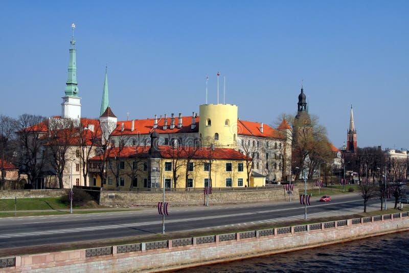 Riga - Letland royalty-vrije stock foto