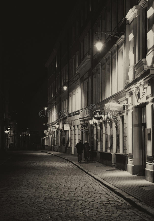 Riga, Letland stock afbeelding