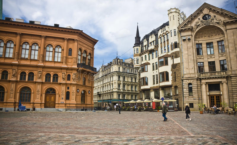 Riga, Letland royalty-vrije stock fotografie