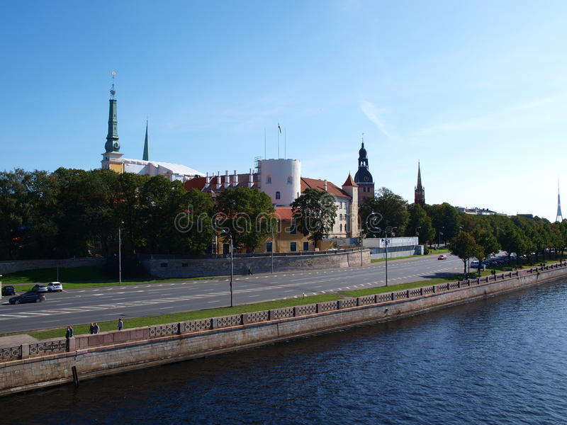 riga letland royalty-vrije stock afbeelding
