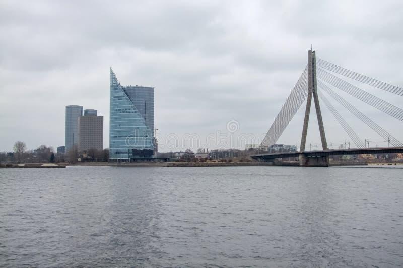 Riga in Lettland stockfotografie