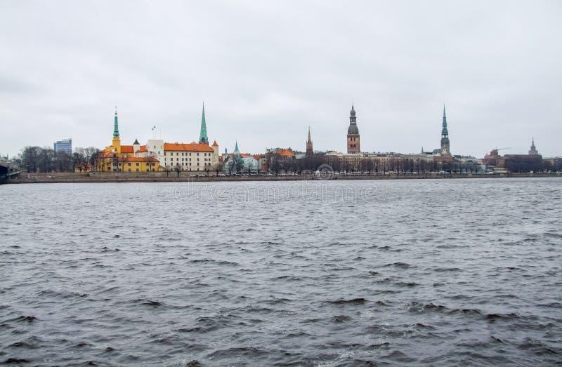 Riga in Lettland lizenzfreie stockbilder