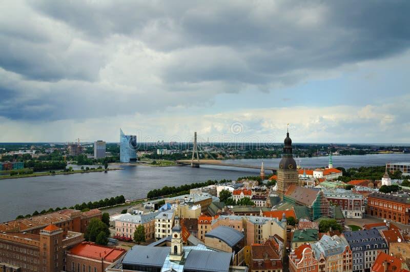 Riga Lettland royaltyfri foto