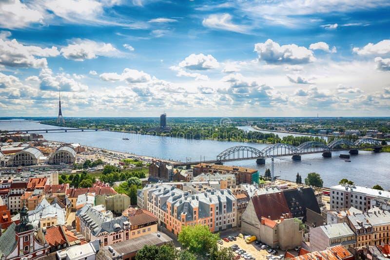 Download Riga, Lettland stockbild. Bild von riga, architektur - 96925427