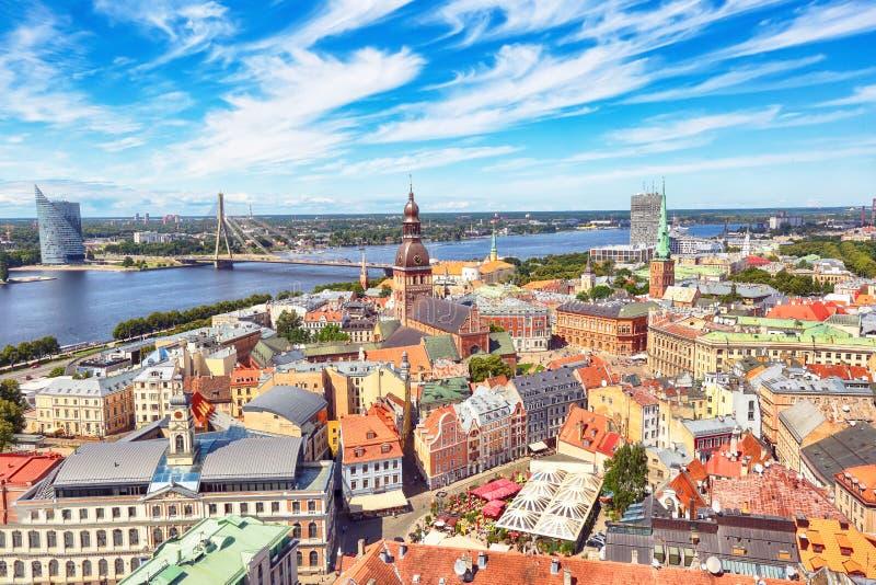 Download Riga, Lettland stockfoto. Bild von fluß, ernstlich, historisch - 96925582