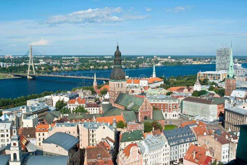 Riga, Lettonie image libre de droits
