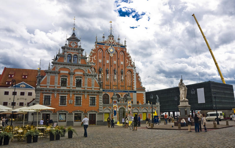 Riga, Lettonie photographie stock