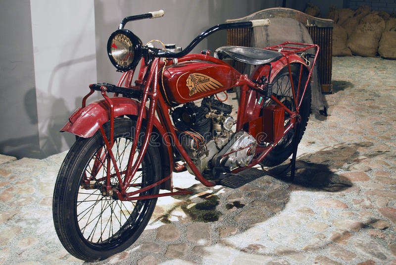Riga motormuzejs indian royalty free stock image