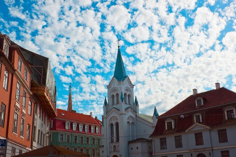 Download Riga old city stock photo. Image of cityscape, building - 21946636