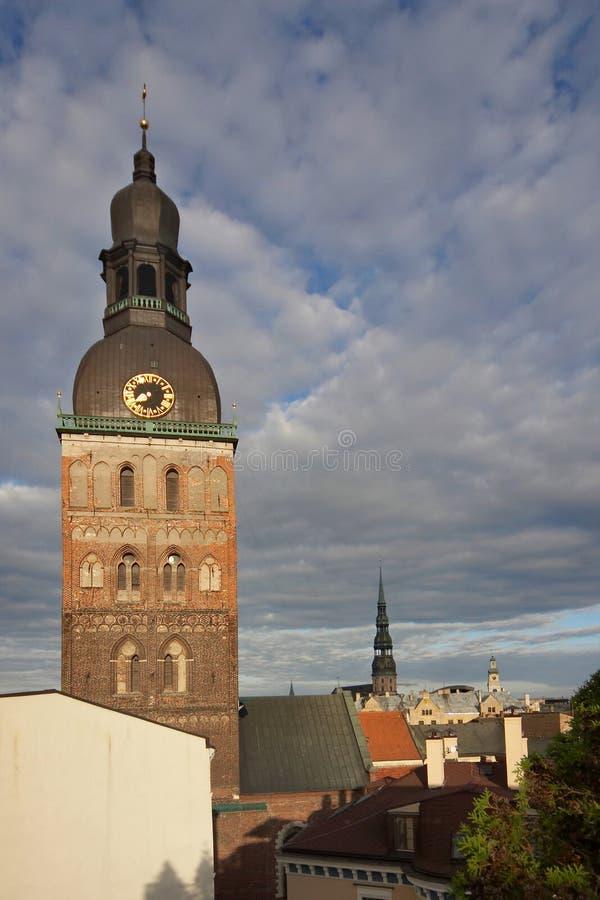 Riga, Oude stad, Doms royalty-vrije stock foto's