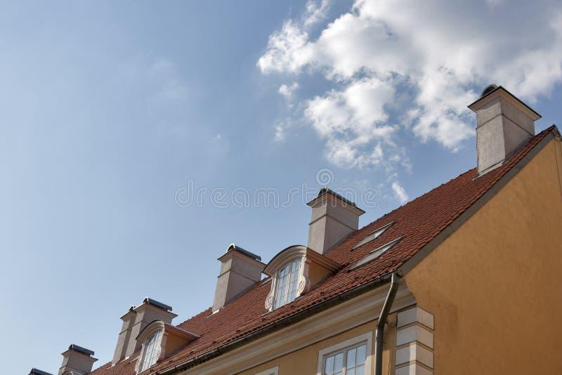 Riga roof royalty free stock photography