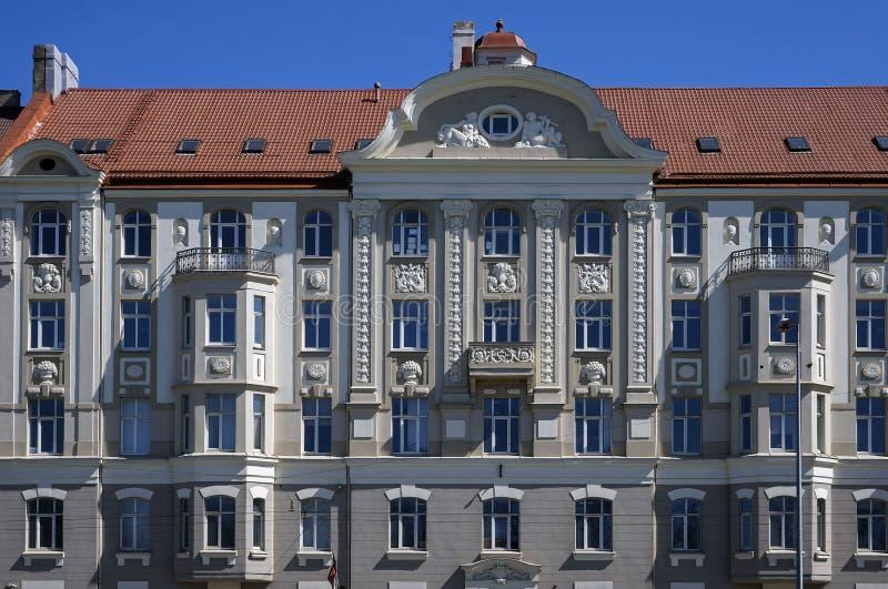 Riga, rue de l'exportation 5, moderne décoratif, détails images libres de droits