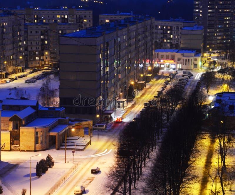 Riga, secteur de Zolitude photographie stock