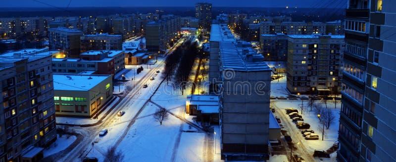 Riga, secteur de Zolitude photos stock