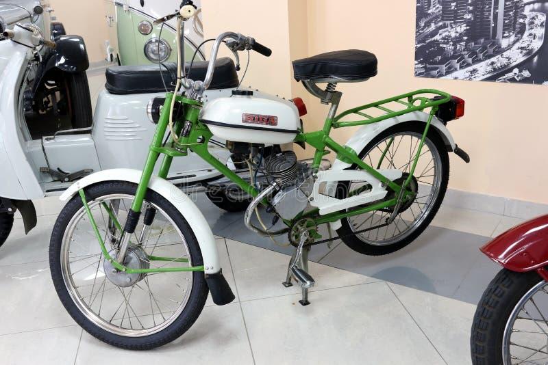 RIGA sparkcykel royaltyfri bild