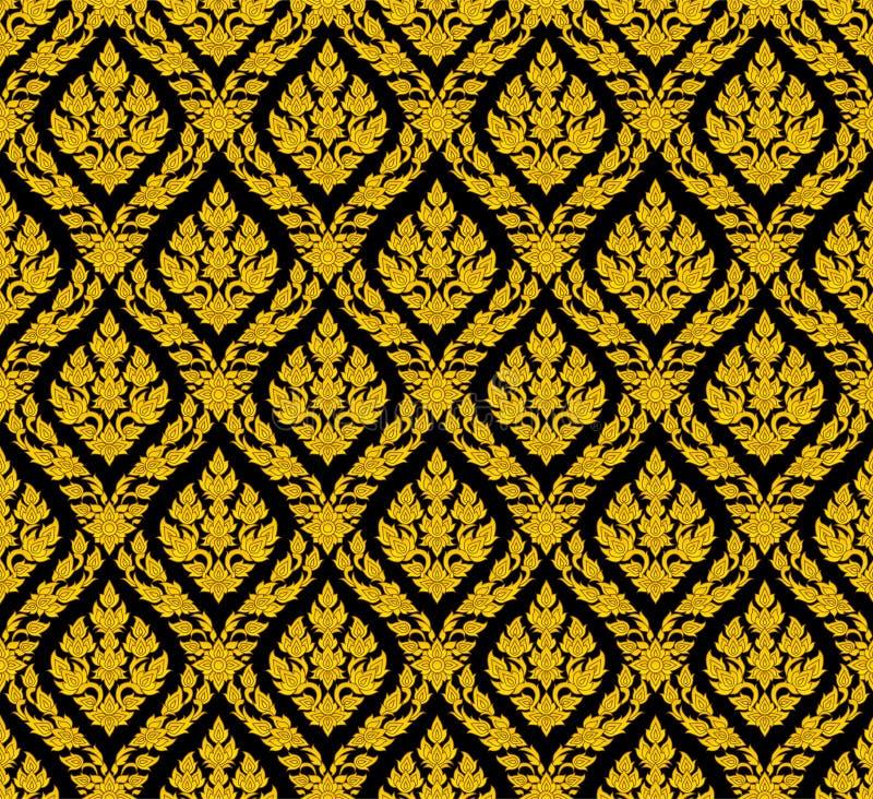 Riga tailandese royalty illustrazione gratis