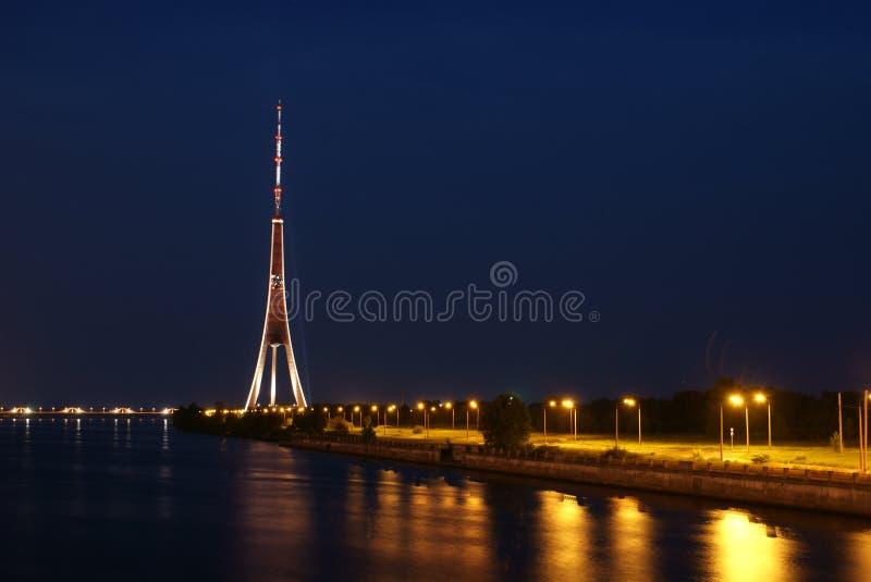 Riga TV Tower. Stock Photography