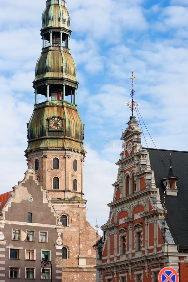 Riga vieja fotografía de archivo libre de regalías