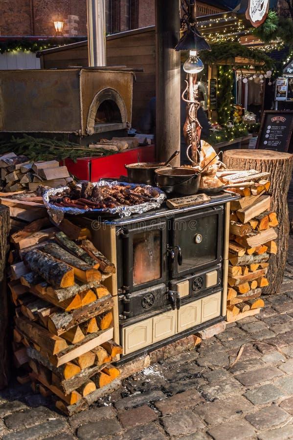 Riga-Weihnachtsmarkt 2018 lizenzfreies stockfoto