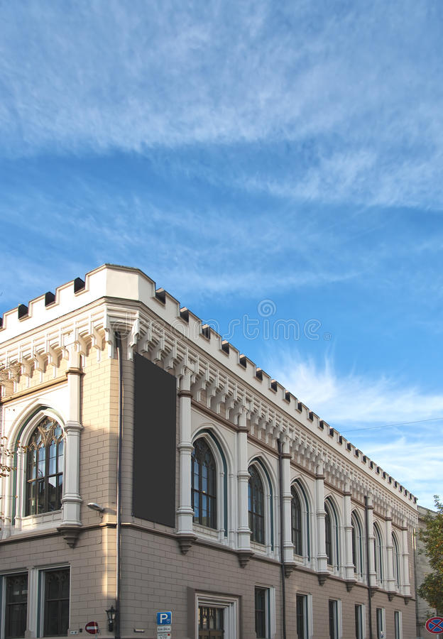 Riga-Zünft Hall 01 stockbild