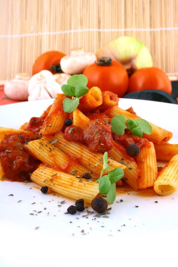 Rigatoni Pasta stock photo