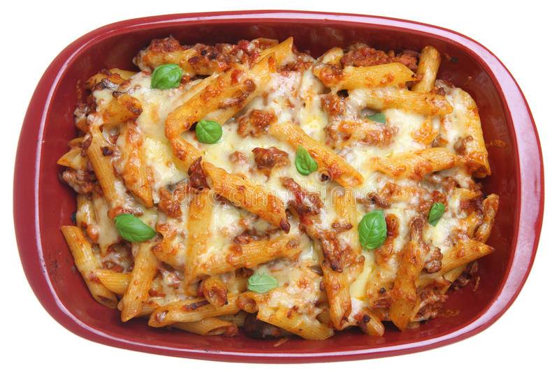 Download Rigatoni Pasta Bake stock image. Image of mediterranean - 17897839