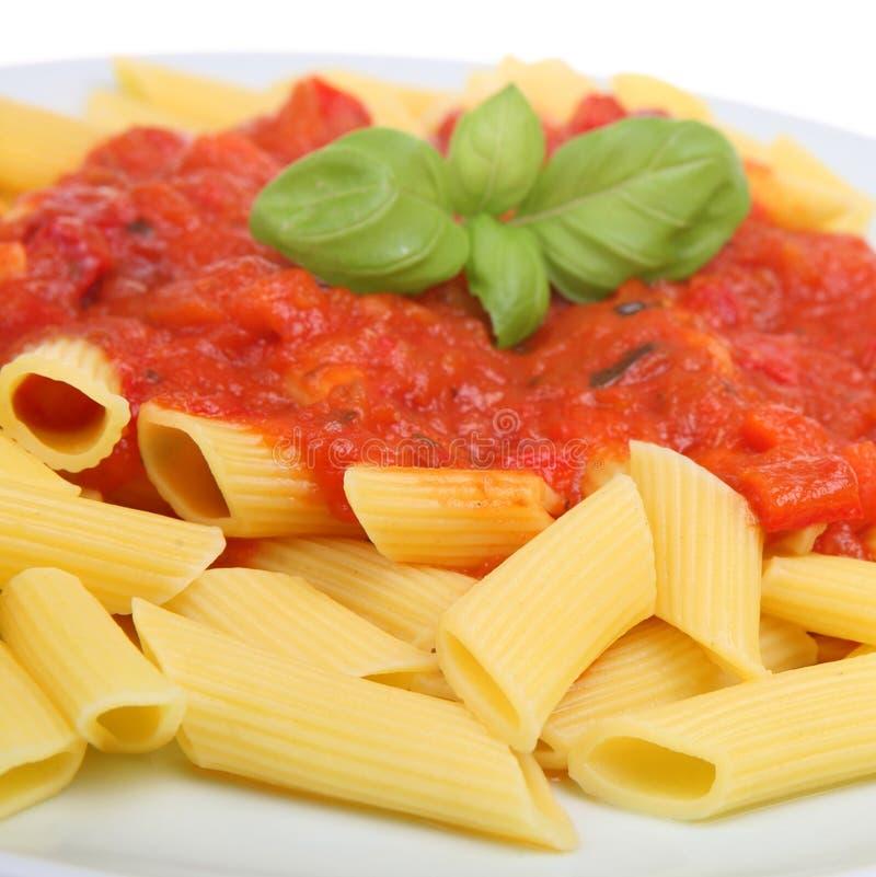 Rigatoni Pasta Meal stock photo