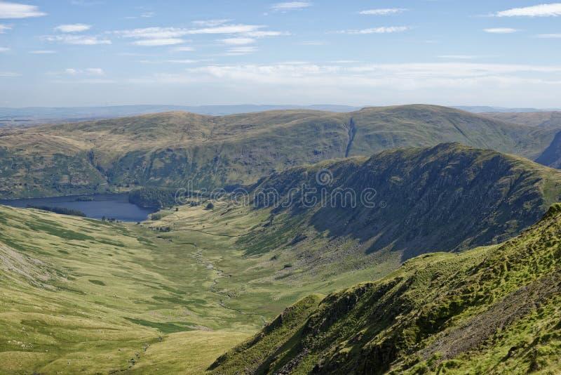 Riggindale & Rough Crag fotografering för bildbyråer