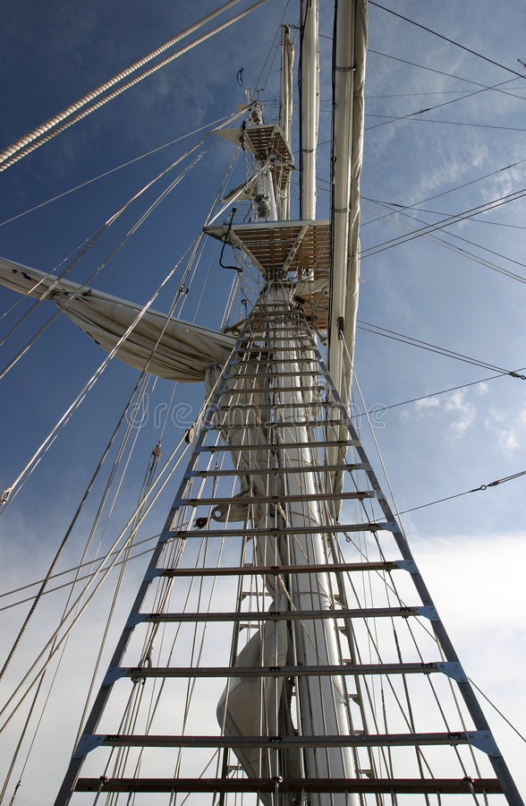 The Rigging royalty free stock photography