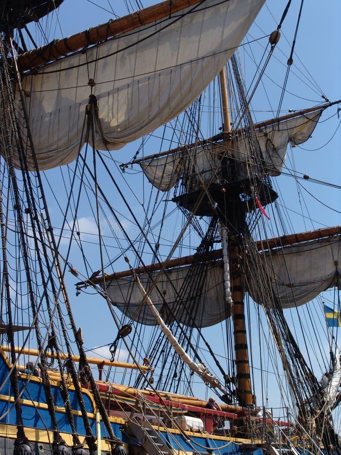 Free Rigging On Gutenberg Tallship Royalty Free Stock Photo - 2486255