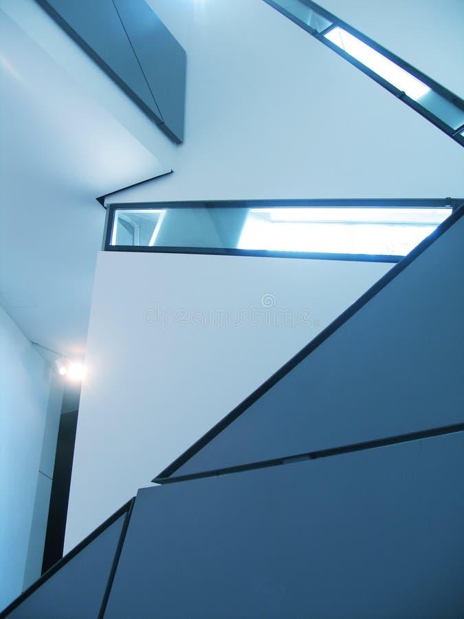 Righe architettoniche dell'interno immagini stock libere da diritti