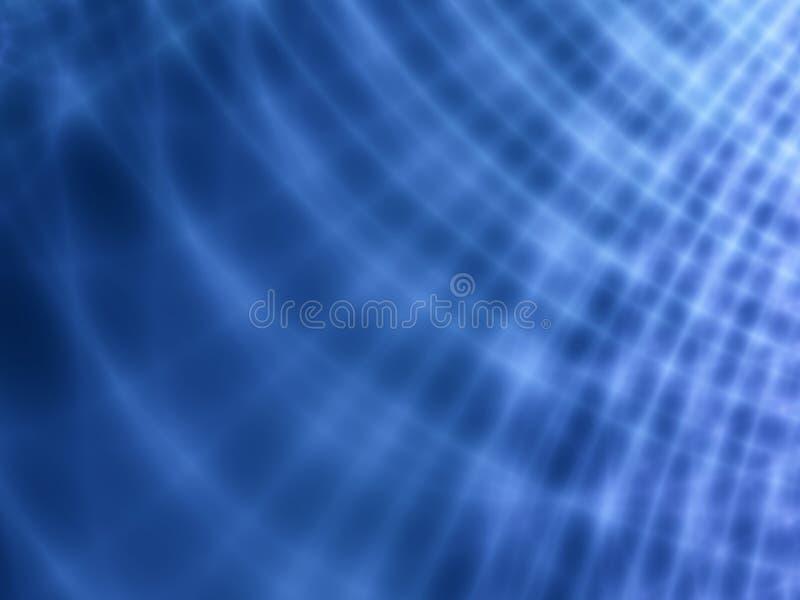 Righe chiare astratte dell'azzurro di indaco illustrazione di stock