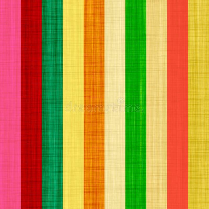 Righe di colore di seta royalty illustrazione gratis