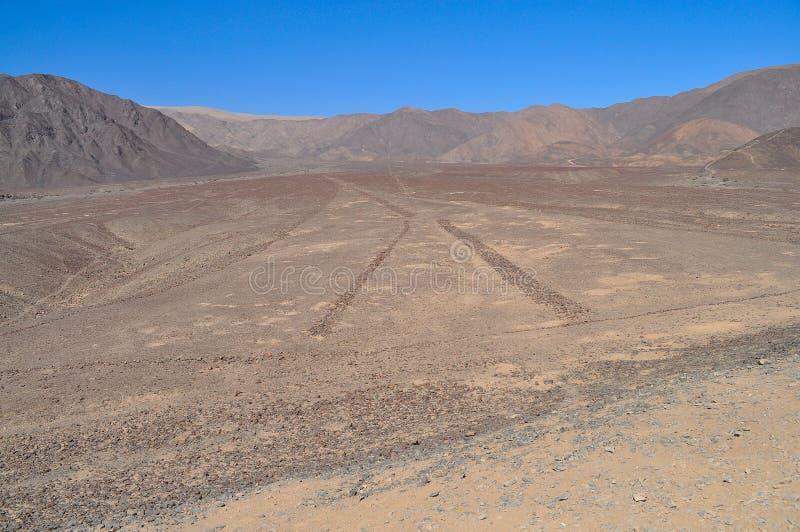 Righe di Nazca immagine stock libera da diritti