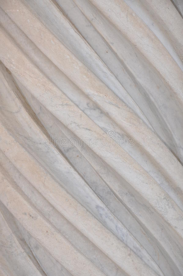 Righe regolari di marmo fotografie stock
