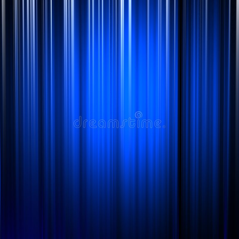 Righe verticali blu illustrazione vettoriale