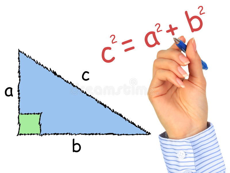 Download Right-angle triangle. stock photo. Image of human, figure - 19977608
