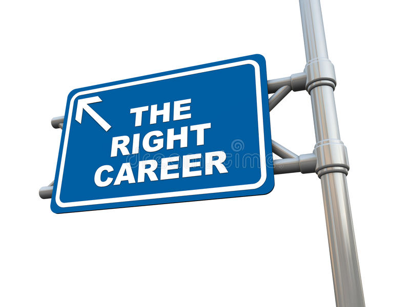 Download Right career stock illustration. Image of guide, option - 28072764