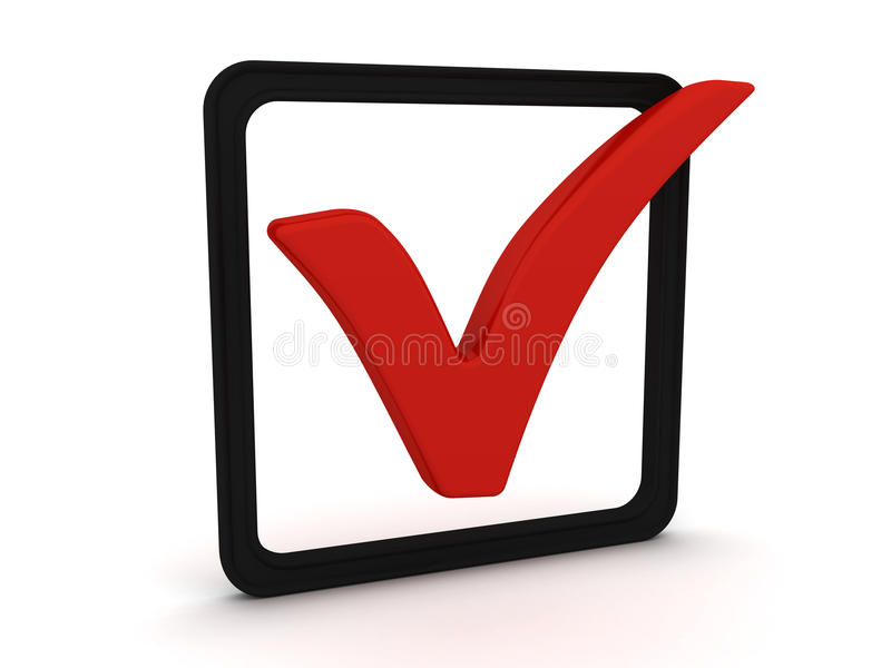 Download Right choice stock illustration. Image of checkbox, check - 13189593