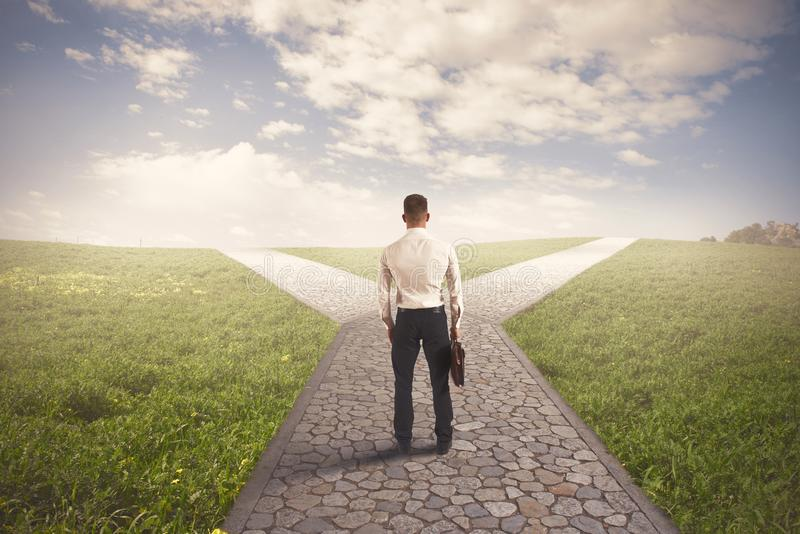 Download The right destination stock image. Image of decision - 31409755