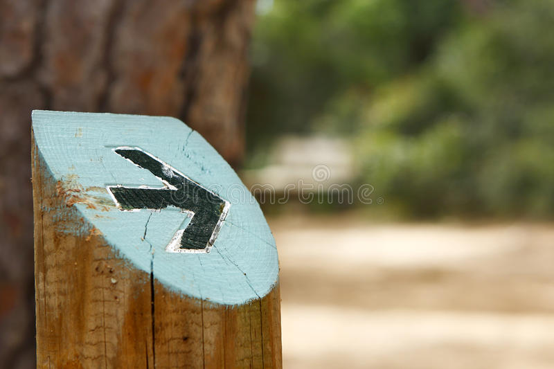 Right direction royalty free stock photos