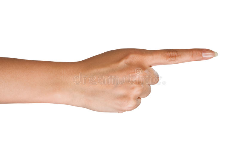 Download Right direction stock photo. Image of hand, right, white - 14434338