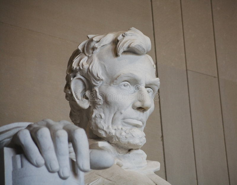 The Right Hand Of Lincoln Stock Photography