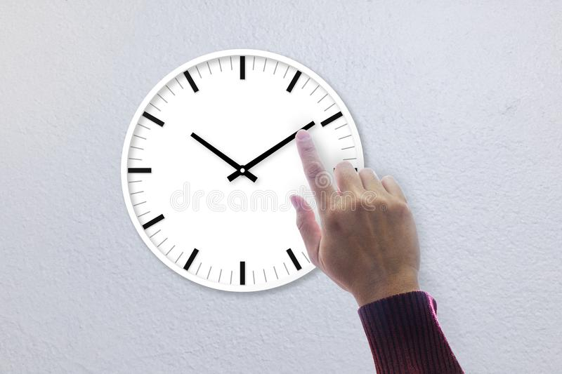 Time in under control royalty free stock photos