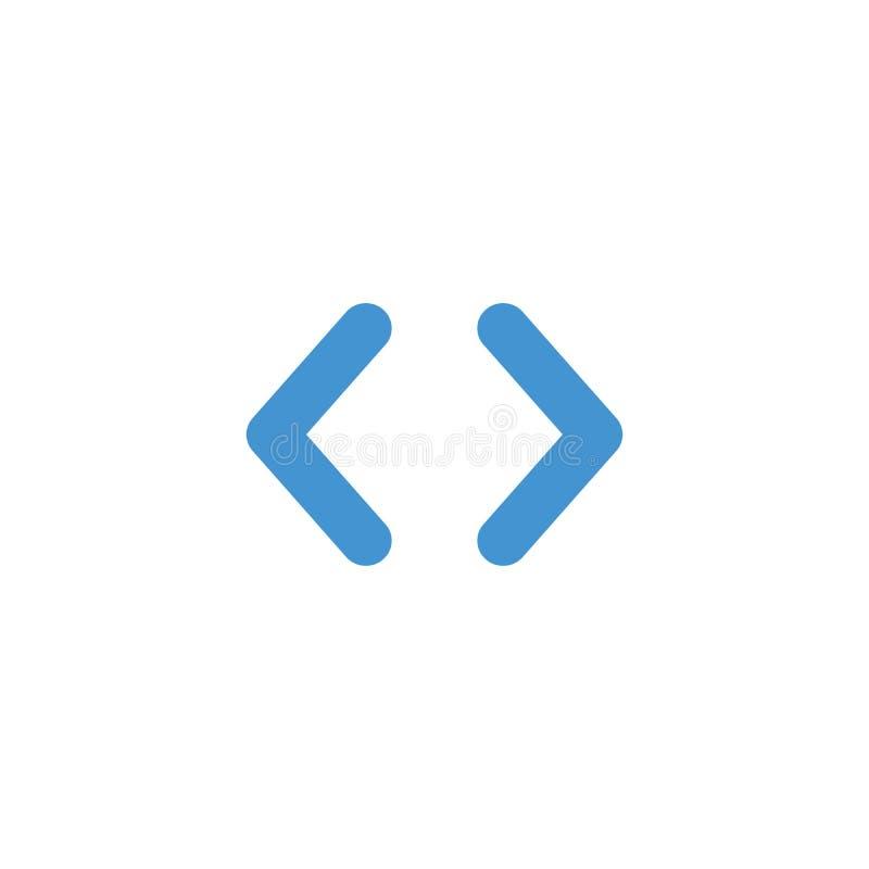 Right left Web vlakke eenvoudige pijlen voor Web-ontwerp Daarna en de knoop van de de cirkelpijl van de previosactie Vector illus vector illustratie