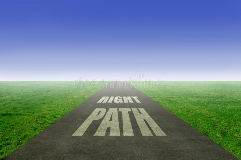 Right Path Stock Image Image Of Dream Fresh Ambition