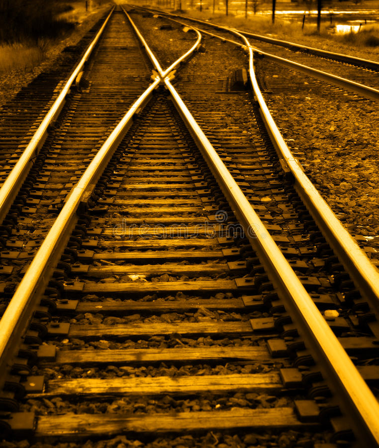 On the right track stock photos
