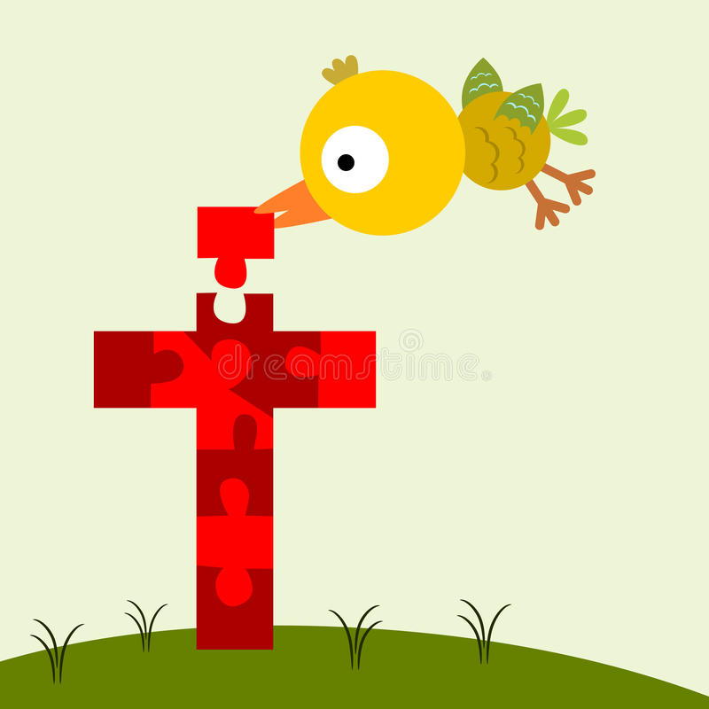 Download The Righteous Bird Stock Illustration Of Religious