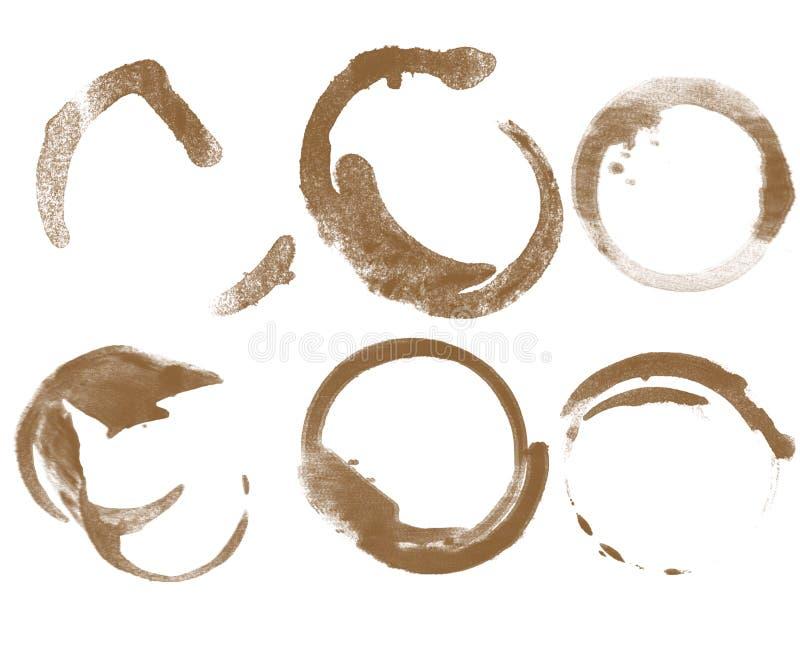 Rigns de café illustration stock