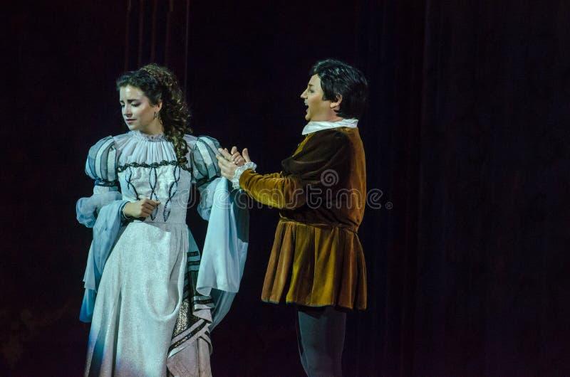 Rigoletto歌剧 库存照片